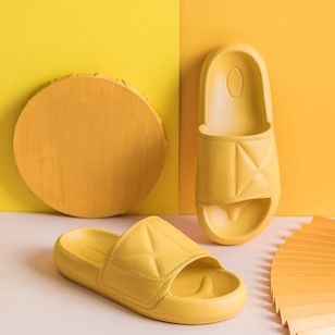 Unisex Flats Slippers (4042407)