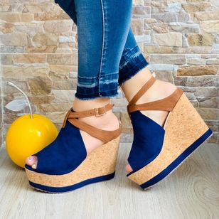 Women's Heels Leatherette Nubuck Wedge Heel Wedges (4038044)
