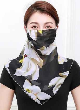 Casual Floral Scarves (1532482)
