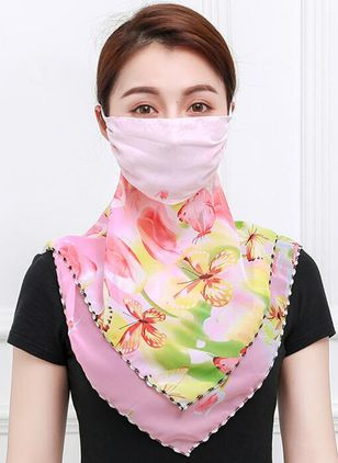 Casual Floral Scarves (1532484)