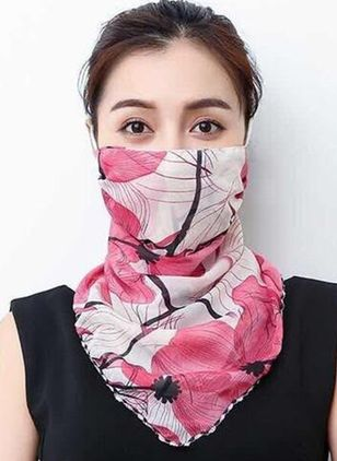 Casual Floral Scarves (1527850)