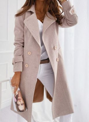 Long Sleeve Coats (125152941)