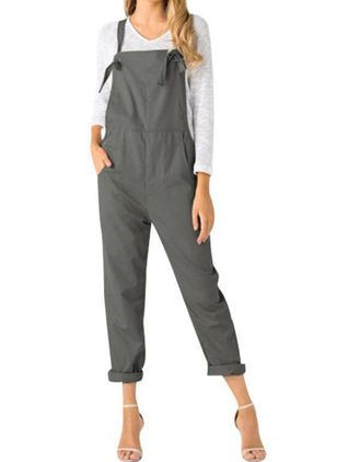 Women's Loose Pants Jumpsuits (1528343)