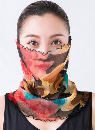 Elegant Color Block Scarves (1532451)