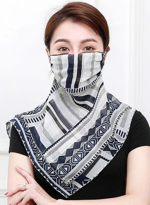 Casual Geometric Scarves (1527874)